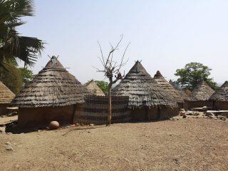 Andiel poblado bedik en País Bassari
