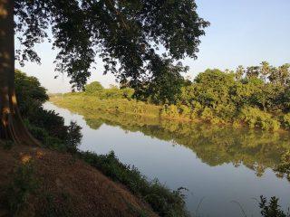 Río Gambia a su paso por Wassadou en Niokolo Koba