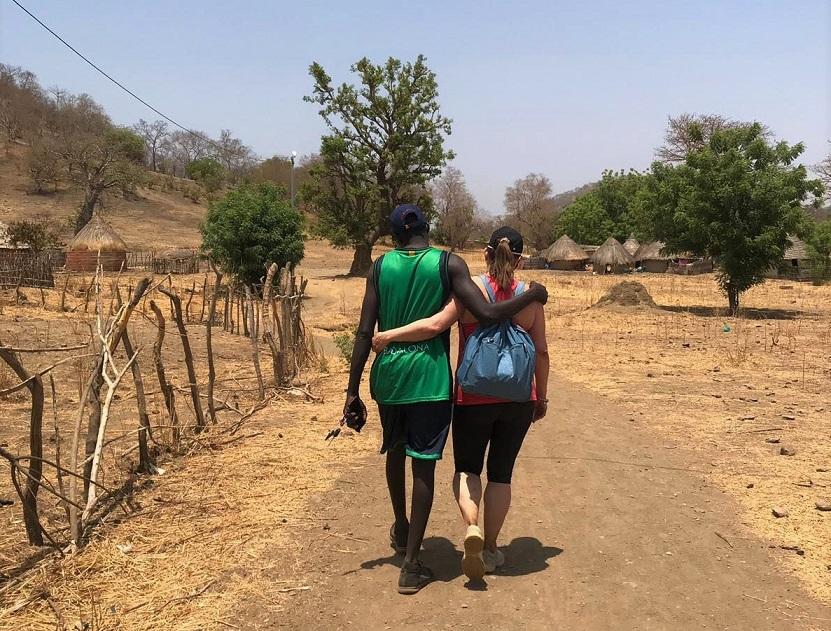 Caminar juntos en Senegal
