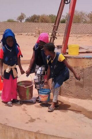 AGUA para el colegio de Louly Sindiane